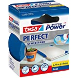 Tesa 56343-00036-03 Power Perfect - Cinta adhesiva , color azul