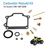 KKmoon Carburetor Repair Kit Carb Rebuild Kit for Suzuki LT80 1987-2006