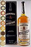 Jameson Signature 1 Liter irish Whiskey mit 9 DreiMeister Edel Schokoladen in 9 Geschmacksvariationen, kostenloser Versand