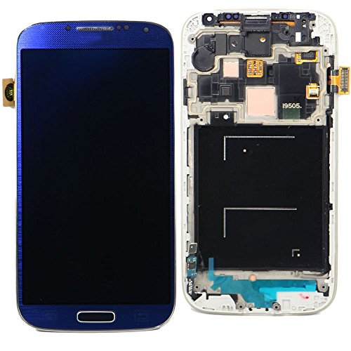 Samsung Galaxy S4 digitizer i9505 Blue Touch Screen LCD Assembly Panel + Digitizer(With Frame)(Complete Package)  available at amazon for Rs.13072