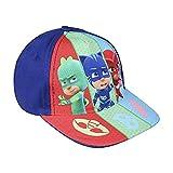 PJ Masks Pyjamahelden 2200002841 Cap, Baumwolle, Kinder, Catboy, Eulette, Gecko