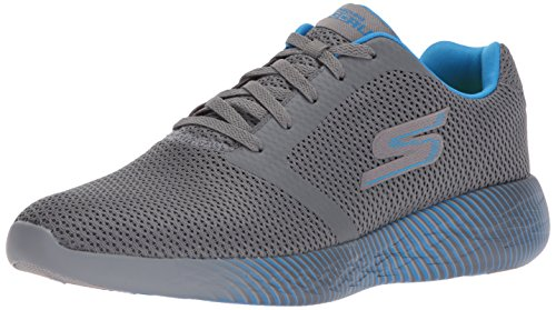 Skechers Performance Go Run 600-Spectra, Scarpe Sportive Indoor Uomo, Grigio (Charcoal/Blue) 42 EU