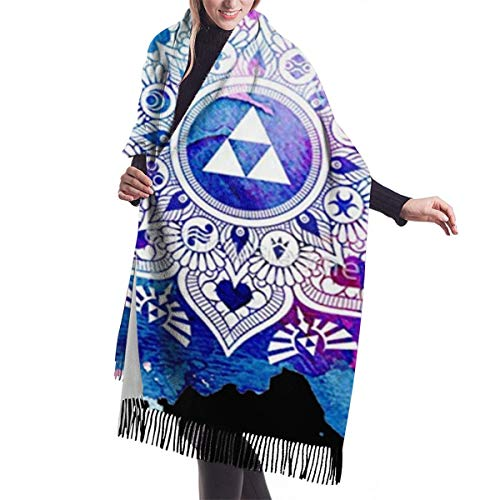 Funny Legend Of A Zelda Mandala Bufanda de cuello sin costuras Bandana Máscara facial Motocicleta Ciclismo Montar Correr Diademas