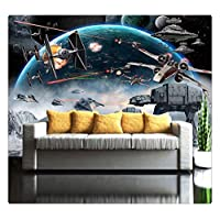3D Photo Wallpaper Mural Star Wars Large Murals Wall Painting Eco-Friendly Bedroom Wallpaper,300Cmx210Cm