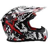 Römer Helmets Römer Cross Casco Kiel, Negro, Rojo, Color blanco, tamaño M
