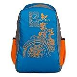 #4: Lutyens Blue Polyester School Bag(21 Litre)(Lutyens_328)