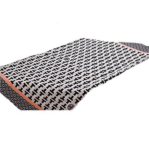 TOYUN Sciarpe Scialli Sciarpe Ombra Retro Cognome Geometrica Sciarpa ,