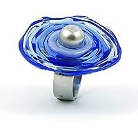 Verstellbarer Edelstahl-Ring (Gr