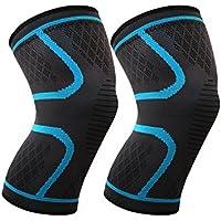 Knie Stützklammer Kompressions Knie Hülsen Verpackungs Auflage Anti-Rutsch elastische breathable Kniebandagen... preisvergleich bei billige-tabletten.eu
