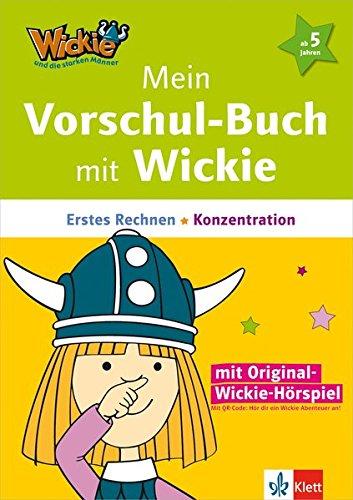 Wickie und die starken Männer - Mein Vorschul-Buch mit Wickie: Erstes Rechnen, Konzentration (mit Wickies Originalstimme über QR-Code)