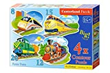 Castorland Funny Trains 8/12/15/20 pcs 8pc(s) - puzzles (Contour puzzle, Cartoons, Children, 4 year(s), Boy/Girl, Indoor)