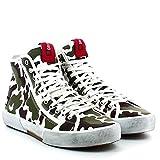 D.A.T.E. Homme Sneakers, E140-BL-CM-WH, BLENDER CAMO, Milit, 44