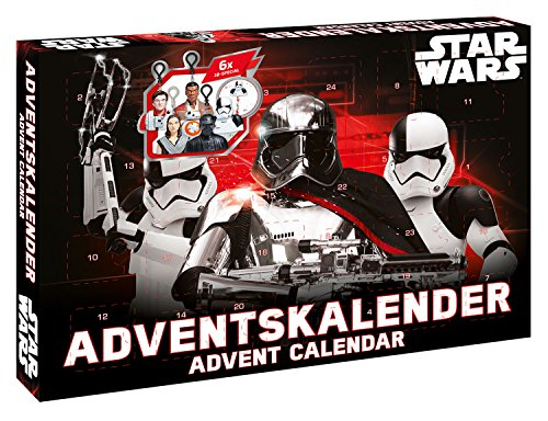 Craze 57385 - Adventskalender Disney Star Wars Episode VIII (Star Wars Jedi Mädchen)