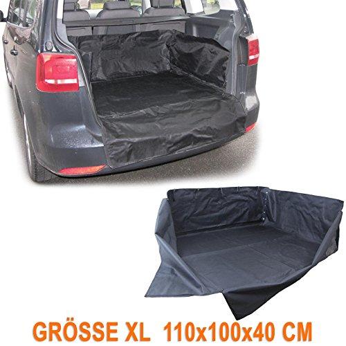 Carparts-Online 27871 Kofferraum Schutz Matte Wanne Ladeschutz flexibel Uni Größe XL 110x100x40cm