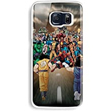 Saiyans vs Marvel 's Heroes para iphone y Samsung Galaxy caso