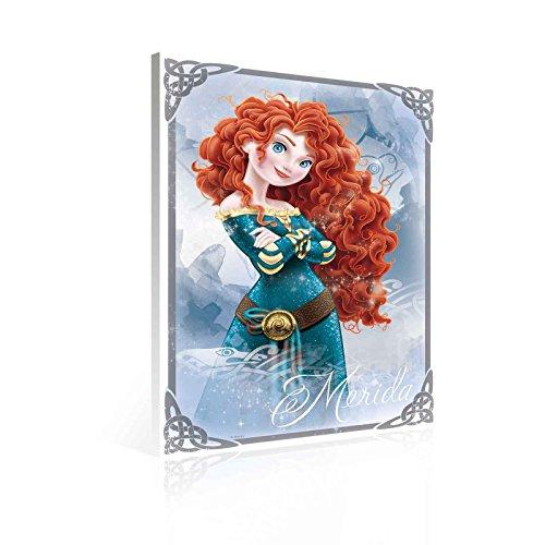 TapetoKids Leinwandbild Disney Merida Legende der Highlands - M - 60 x 40 cm