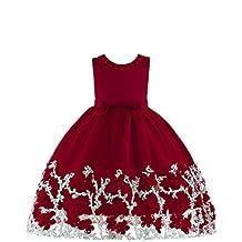 POLP Niña Vestido ◕‿◕Mujer Verano Vestido Casual sin Mangas de Impresión Vestido,