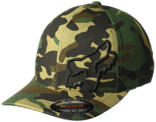 Fox Herren Flex 45 Flexfit HAT Baseball Cap, Camouflage, X-Large Flex Fit Cap Camouflage