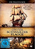 Unter schwarzer Flagge - Die Piraten-Box - 9 Filme Box [3 DVDs]
