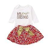 2f594b9f5 POLP Niño Regalo Navidad Niña Vestido Mono Bebe Rojo Navidad Bebe Disfraz  Ropa Invierno Bebe Mameluco