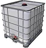 Pferdetränke / Lebensmittel-IBC / Wassertonne - 1000 Liter Wassertank für Lebensmittel zertifiziert - NEU / unbenutzt - VERSANDKOSTENFREI