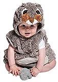 Joker JC044–000–Kostüm Plüsch Baby XXS, Mehrfarbig