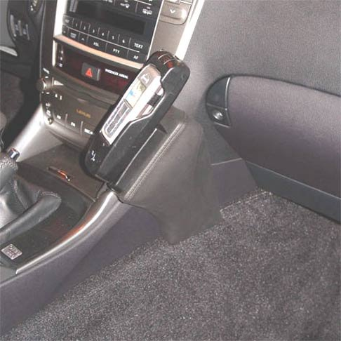 kuda-console-per-telefono-per-lexus-is-250-a-partire-da-12-05-in-vera-pelle-colore-cashmere