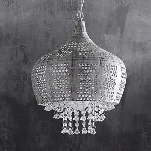 DEED Einfache Moderne persönlichkeit lampen, kristall pendelleuchte Schlafzimmer Studie Restaurant europäischen kristall Eisen geschmiedete deckenleuchte kreative leuchten bühne dekorative Lichter,We - - Deckenleuchte Geschmiedet