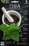 Sgaravatti Cuor di salute sementi da orto in bustina termosaldata (CHIA - Salvia hispanica)