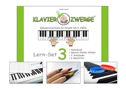 Kostenloser Versand! Klavierschule 3 für Kinder ab 6 Jahre, für Anfänger, für Vorschulkinder