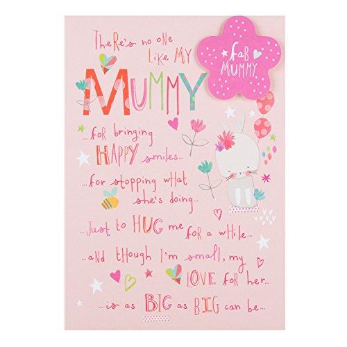 Hallmark Geburtstagskarte für Mama (in englischer Sprache), mittelgroß
