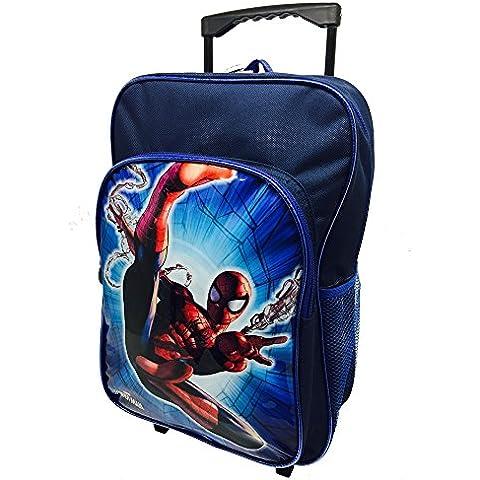 Marvel Ultimate Spiderman Mochila Trolley de Lujo, Multicolor