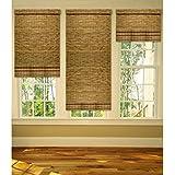202456 Persiana de bambú resistente a temperatura ambiente con cuerda 90x180cm