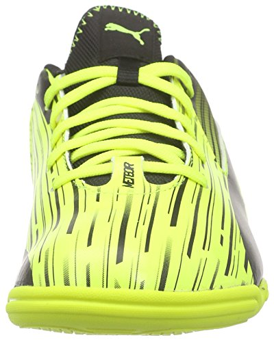 Puma - Meteor Sala Lt, Scarpe da calcetto Donna Giallo (Gelb (safety yellow-black 04))