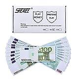 Prop Money Euro € 10.000 Volldruck Kopie 100 Euro. für Money Gun, Cash Cannon, Werbung, Falschgeld, Party, Supreme Money Spra