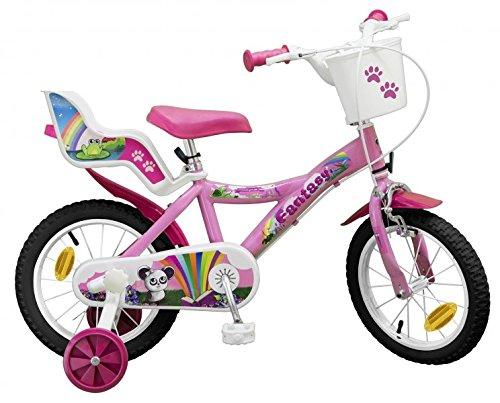 Toimsa 14 ZOLL Kinderfahrrad M&aumldchenfahrrad Kinder Kinderrad Fahrrad Rad Bike FANTASY 503RS