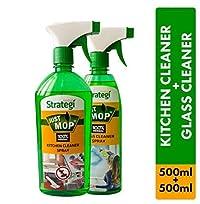 Herbal Strategi Kitchen Cleaner Spray 500ml, Kitchen Cleaner Spray 500ml (Pack of 2)