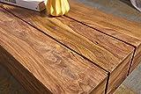 Wohnling Couchtisch Sira, Massiv-Holz Sheesham, 120 cm, dunkel-braun - 4