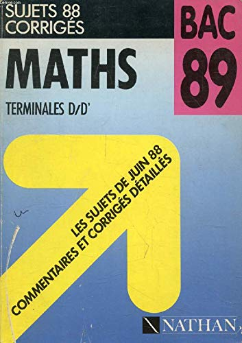 Maths Bac 1989 par Nathan