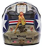 O'Neal 5Series MX Motorrad Helm Wingman Moto Cross Enduro Quad Polycarbonat Motorrad, 0618W-0, Größe Medium (57 - 58 cm)