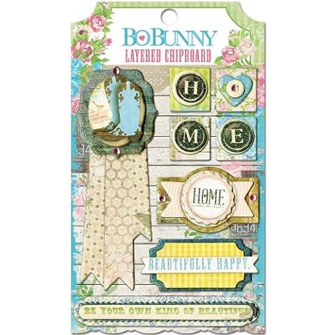 BoBunny Presse Prairie Chic couches de contreplaqué