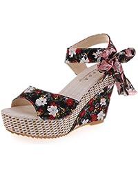 Sandalias para Mujer Yesmile Zapatos Casual de Mujer Sandalias de Verano para