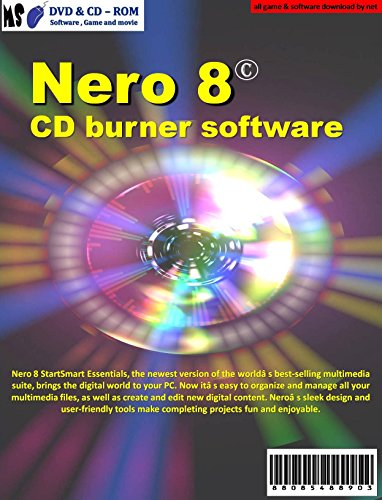 NERO 8 CD burner software