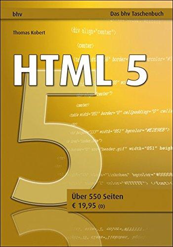 HTML 5 (bhv Taschenbuch)