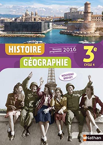 Histoire-Géographie 3e - Nouveau programme 2016