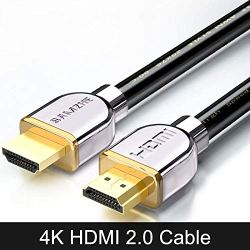 4K * 2K HDMI2.0 Kabel 1080P HDMI2.0 Kabel Goldbeschichtete HDMI2.0 Kabel Digitale HDMI2.0 Kabel 1/2/3/5/8/10/20/25/30/40 / 50m, 2m - Hdmi-kabel-25 Dünne Ft