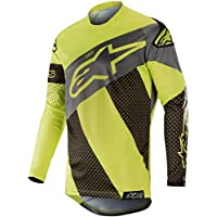 Alpinestars 2019 Men s Racer Tech Atomic MX Jersey Black Yellow Flou Grey ·  More options available 1e8a125e6