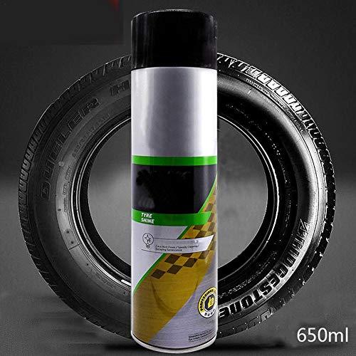 Diuspeed Reinigungsmittel, Reifenschaumaufheller Glanzspray Schutzmittel Reinigungsmittel Anti-Aging-Mittel für Autoreifen