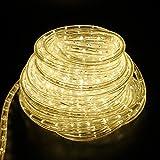 SPEED 8M LED Lichterschlauch Lichterkette Schlauch Leiste Außen und Innen Warmweiß