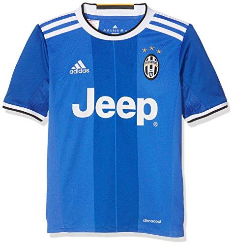 adidas Jungen Juventus Turin Trikot, Vivid Blue/Victory Blues/White, 164